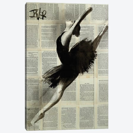 In Flight Canvas Print #LJR365} by Loui Jover Canvas Print