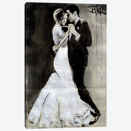 The Dance Canvas Print #LJR367} by Loui Jover Art Print