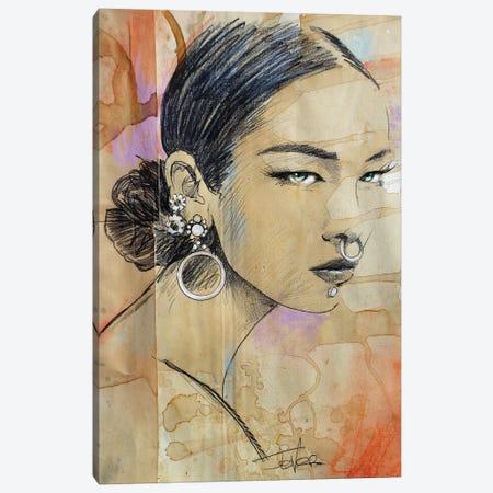 Chant Canvas Print #LJR369} by Loui Jover Canvas Artwork