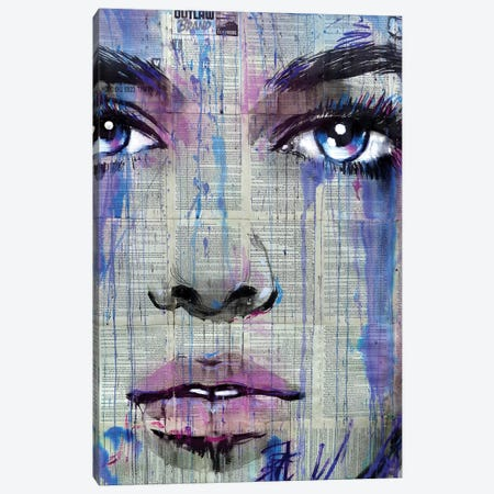 Outlaw Heart Canvas Print #LJR370} by Loui Jover Canvas Art Print