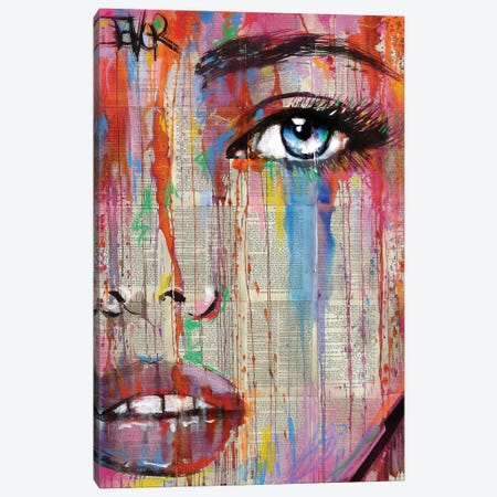 Color My Number Canvas Print #LJR371} by Loui Jover Art Print