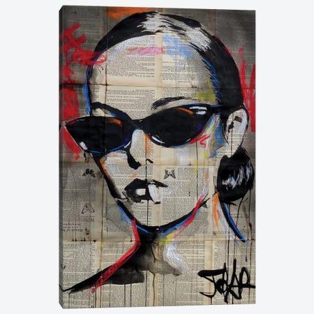 Beatnik Flair Canvas Print #LJR374} by Loui Jover Canvas Wall Art