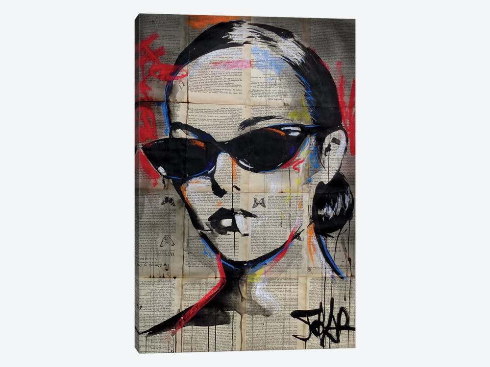 Beatnik Flair by Loui Jover 1-piece Canvas Artwork