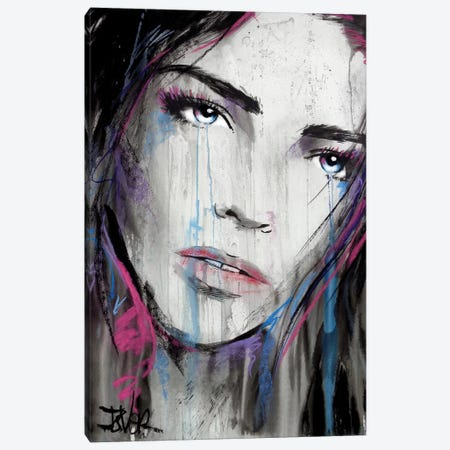 Blue July Canvas Print #LJR378} by Loui Jover Canvas Print