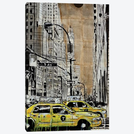 5th Ave Canvas Print #LJR379} by Loui Jover Art Print