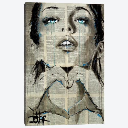 All You Need Is Canvas Print #LJR382} by Loui Jover Canvas Artwork