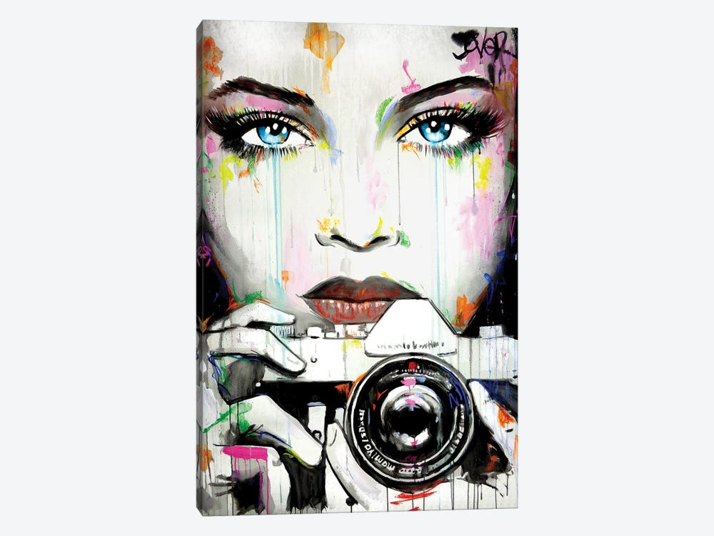 Caught by Loui Jover 1-piece Canvas Wall Art