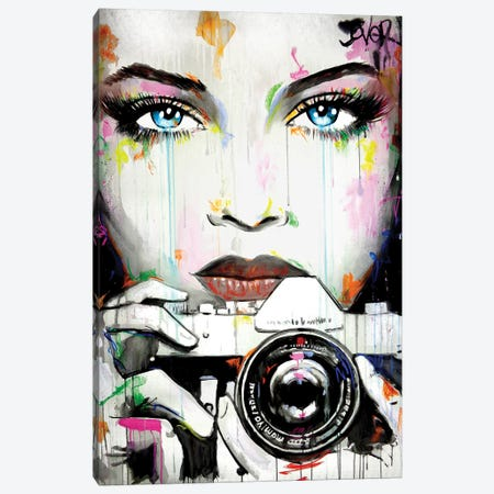 Caught Canvas Print #LJR385} by Loui Jover Canvas Print
