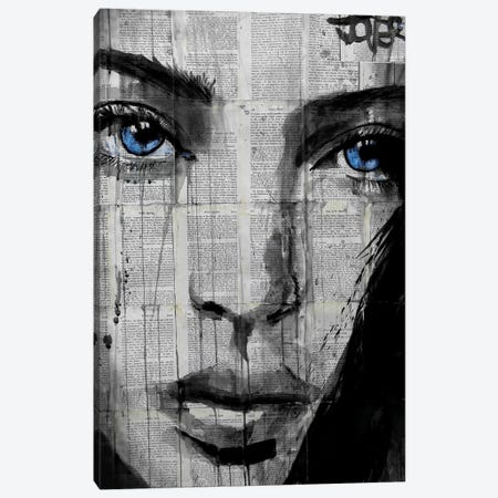 Winter's Way Canvas Print #LJR38} by Loui Jover Canvas Art Print