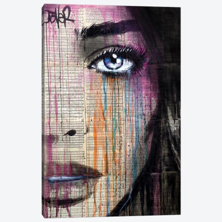 Artemis Canvas Print #LJR393} by Loui Jover Canvas Art Print
