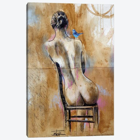 Naked Hope Canvas Print #LJR395} by Loui Jover Canvas Wall Art