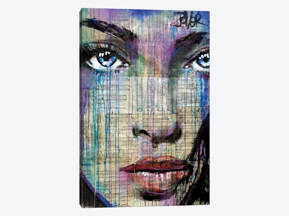 Freeky by Loui Jover 1-piece Canvas Art Print