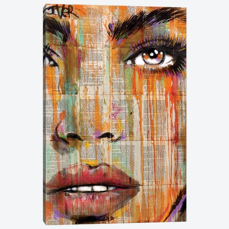 Sun Burst Canvas Print #LJR399} by Loui Jover Canvas Print