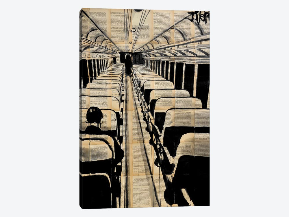 A Bigger Destiny by Loui Jover 1-piece Canvas Print