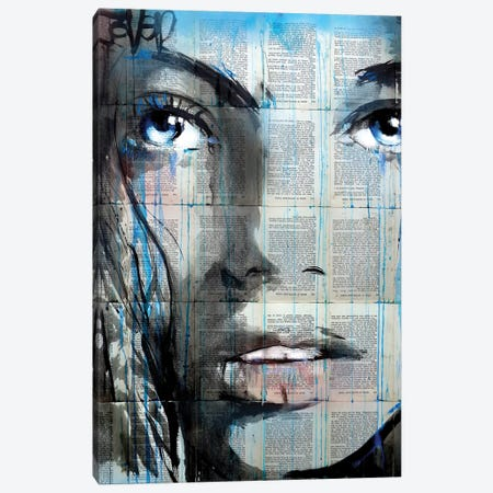 Blue Sway Canvas Print #LJR404} by Loui Jover Canvas Artwork