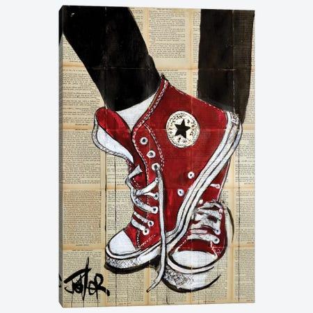 Bigger Reds Canvas Print #LJR410} by Loui Jover Canvas Artwork