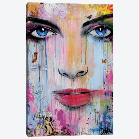 All Or None Canvas Print #LJR41} by Loui Jover Canvas Wall Art