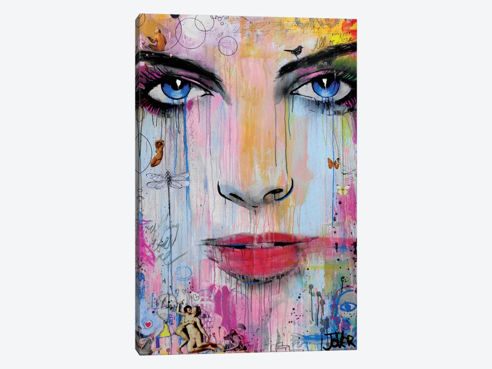 All Or None by Loui Jover 1-piece Canvas Art