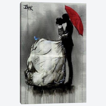 Big Dress Canvas Print #LJR432} by Loui Jover Canvas Art
