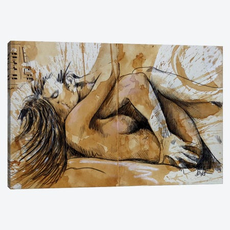 Fuel Canvas Print #LJR433} by Loui Jover Canvas Artwork