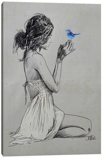 Hope And Pray Canvas Art Print
