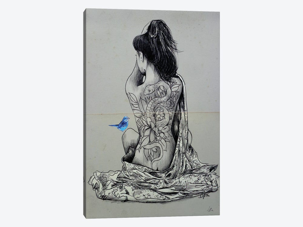 Hope And Serpent by Loui Jover 1-piece Canvas Artwork