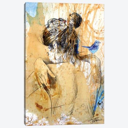 Never To Far Away Canvas Print #LJR443} by Loui Jover Art Print