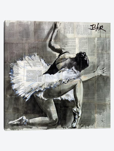 And She Danced 3-Piece Canvas #LJR445} by Loui Jover Canvas Art