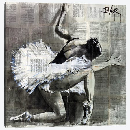 And She Danced Canvas Print #LJR445} by Loui Jover Canvas Art