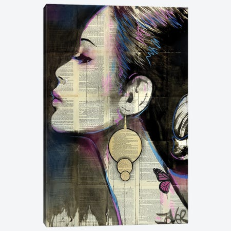 Flourish Canvas Print #LJR449} by Loui Jover Canvas Art Print