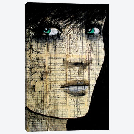 Bohemienne Canvas Print #LJR44} by Loui Jover Canvas Art Print
