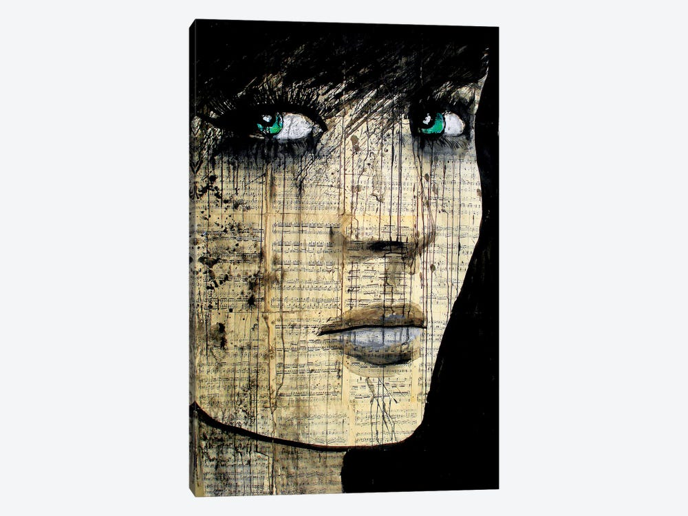 Bohemienne by Loui Jover 1-piece Canvas Art Print