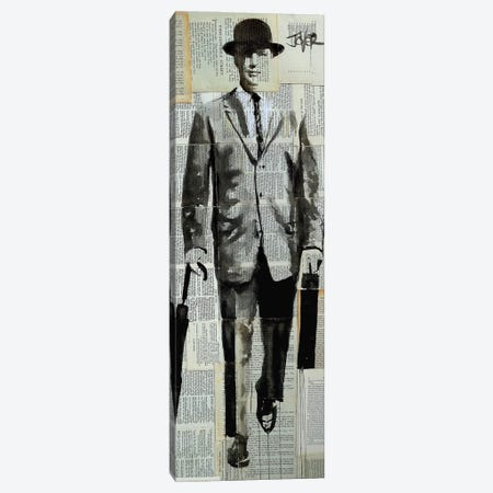 It's Just Business As Usual Canvas Print #LJR451} by Loui Jover Canvas Artwork