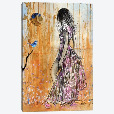 Summer Hope Canvas Print #LJR452} by Loui Jover Canvas Artwork