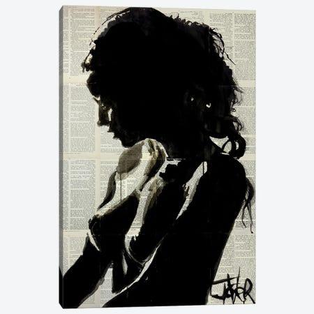 Shadow Player Canvas Print #LJR454} by Loui Jover Canvas Print