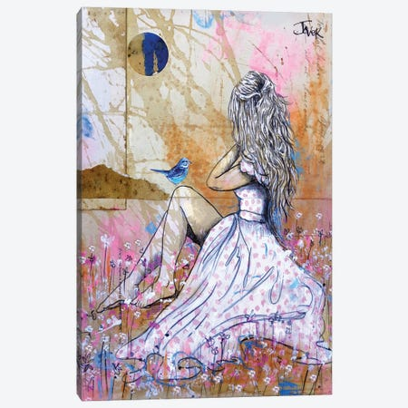 Field Days Canvas Print #LJR457} by Loui Jover Canvas Art Print