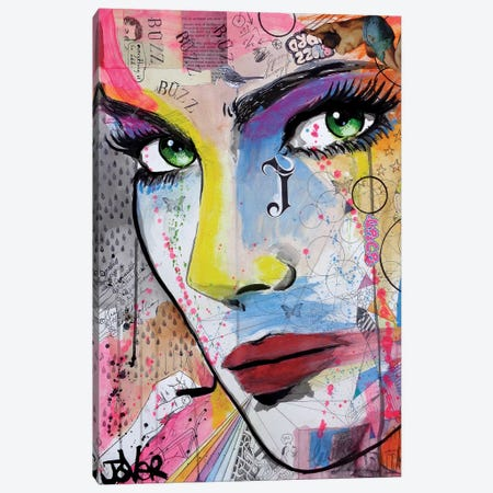 Buzz Canvas Print #LJR45} by Loui Jover Canvas Print
