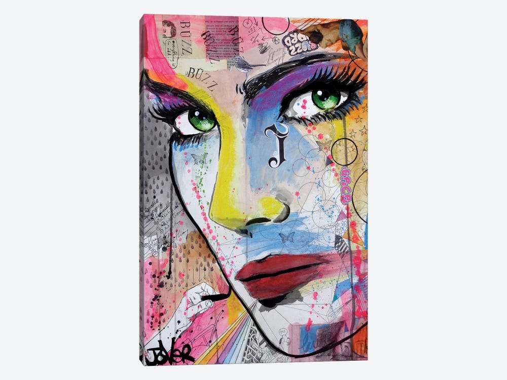 Buzz by Loui Jover 1-piece Canvas Artwork