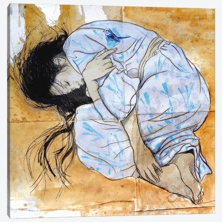 Sleep Canvas Print #LJR460} by Loui Jover Canvas Print