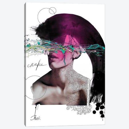 Escape Canvas Print #LJR465} by Loui Jover Canvas Art