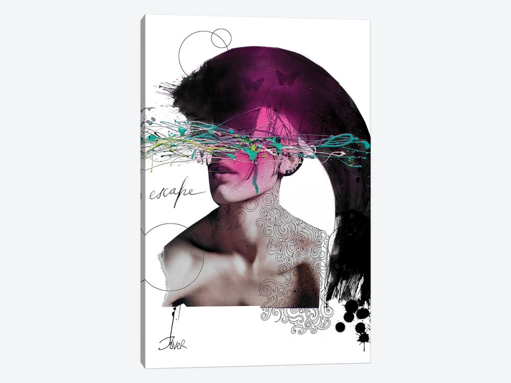 Escape by Loui Jover 1-piece Art Print