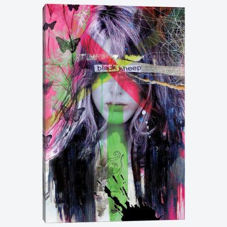 Blacksheep Canvas Print #LJR466} by Loui Jover Canvas Artwork