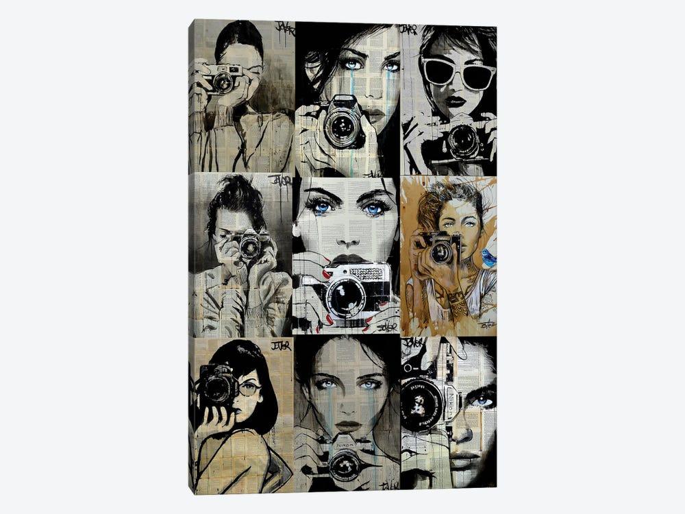 9 Camera Gals by Loui Jover 1-piece Art Print