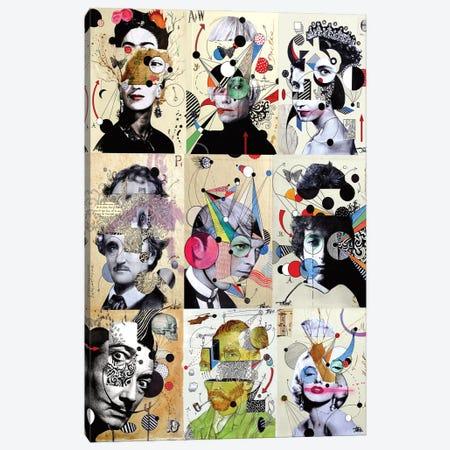 9 Deconstructions Canvas Print #LJR470} by Loui Jover Canvas Wall Art