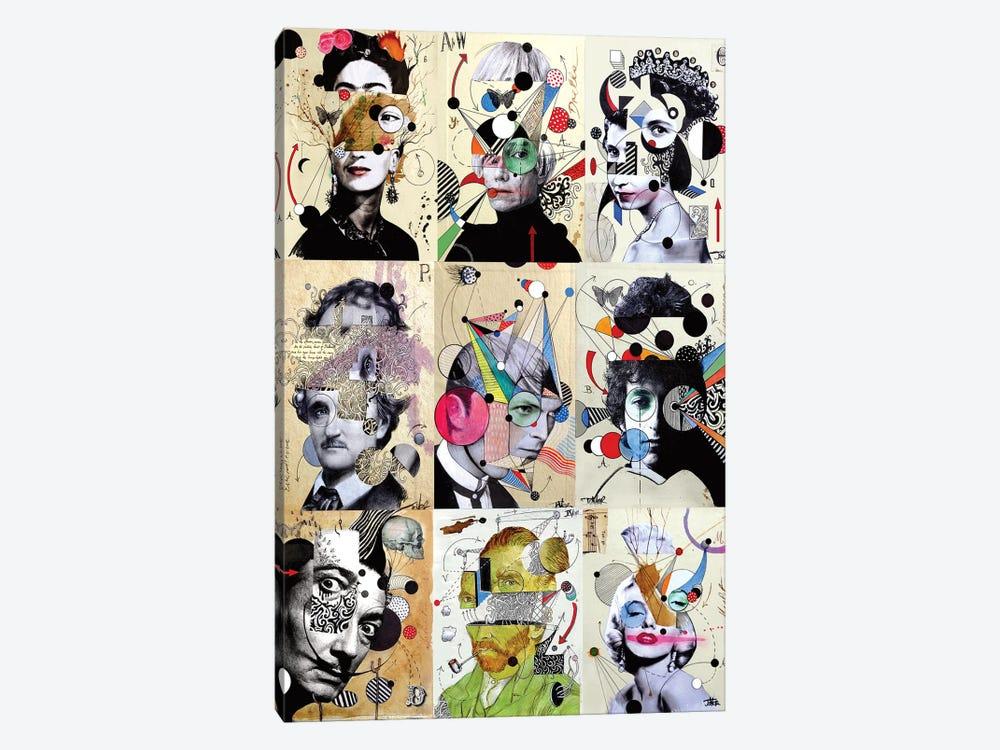 9 Deconstructions by Loui Jover 1-piece Canvas Art Print