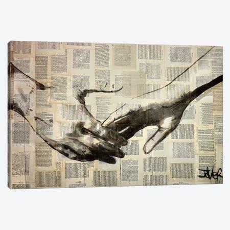 Reach Canvas Print #LJR477} by Loui Jover Canvas Art Print