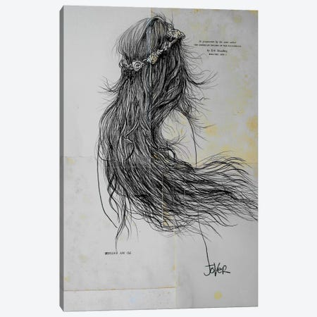 Flying Canvas Print #LJR47} by Loui Jover Canvas Art Print