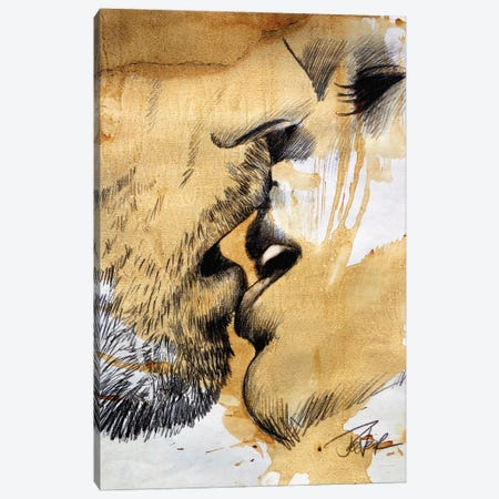 Now Or Never Canvas Print #LJR483} by Loui Jover Canvas Print
