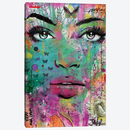 What You Need Canvas Print #LJR486} by Loui Jover Canvas Art