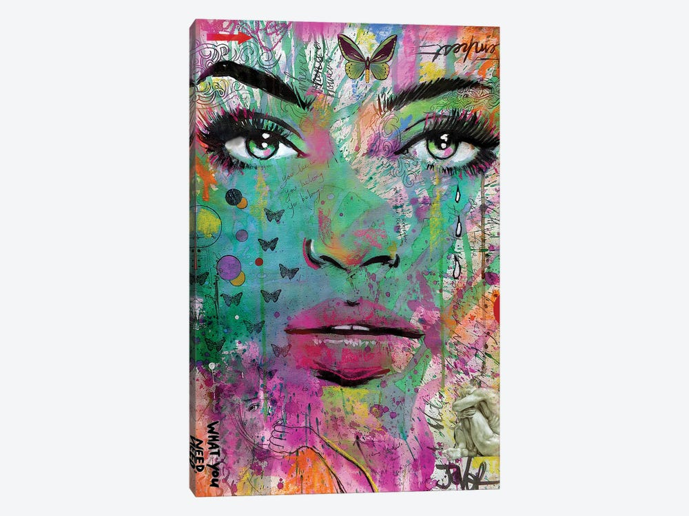 What You Need by Loui Jover 1-piece Canvas Art